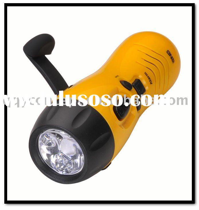 Dynamo Radio LED Flashlight