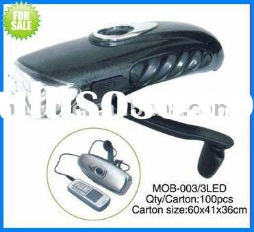 Hand Crank Dynamo Flashlight