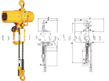 Portable Electric Chain Hoist