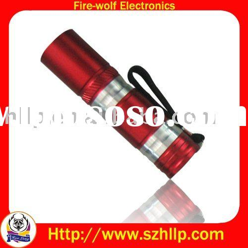 Red Color  Flashlight