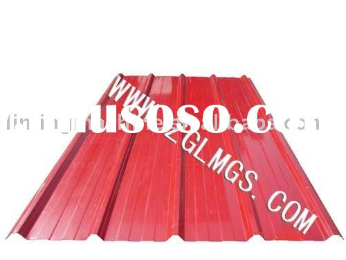 Roofing material rolling machine