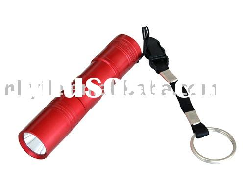 brightest LED torch durable flashlight aircraft aluminum flashlight HS-207