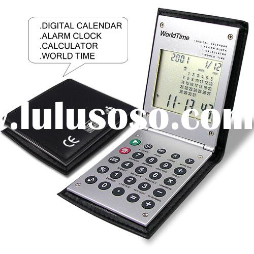 calculator clock