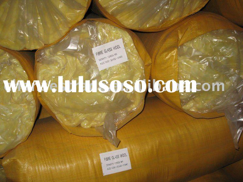 glass wool  batts insulation building materials