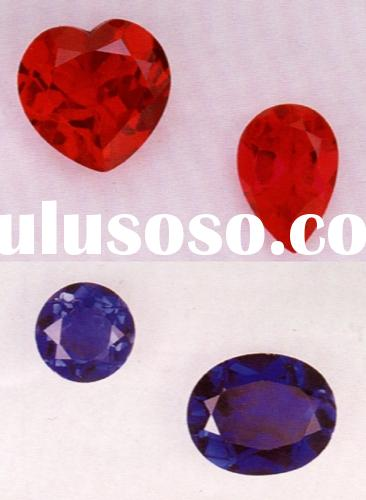 synthetic ruby and sapphire