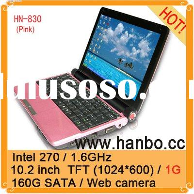 10 inch laptop(HN-830/pink/web camera)