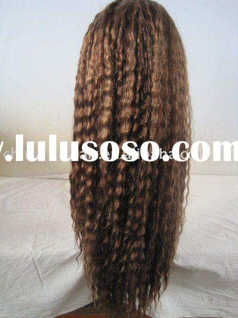 Indian hair lace wig