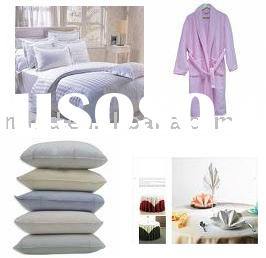 bathrobe,table cloth,pillow