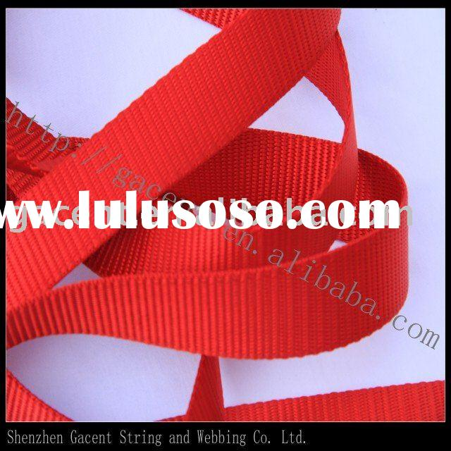 wholesale nylon webbing/tubular webbing/nylon webbing belt