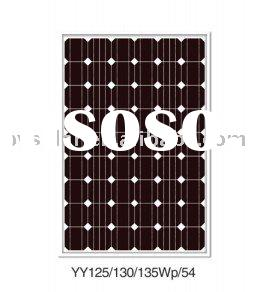 120W mono solar panel with class-A mono 125 cell &Best-selling and Preferential price!