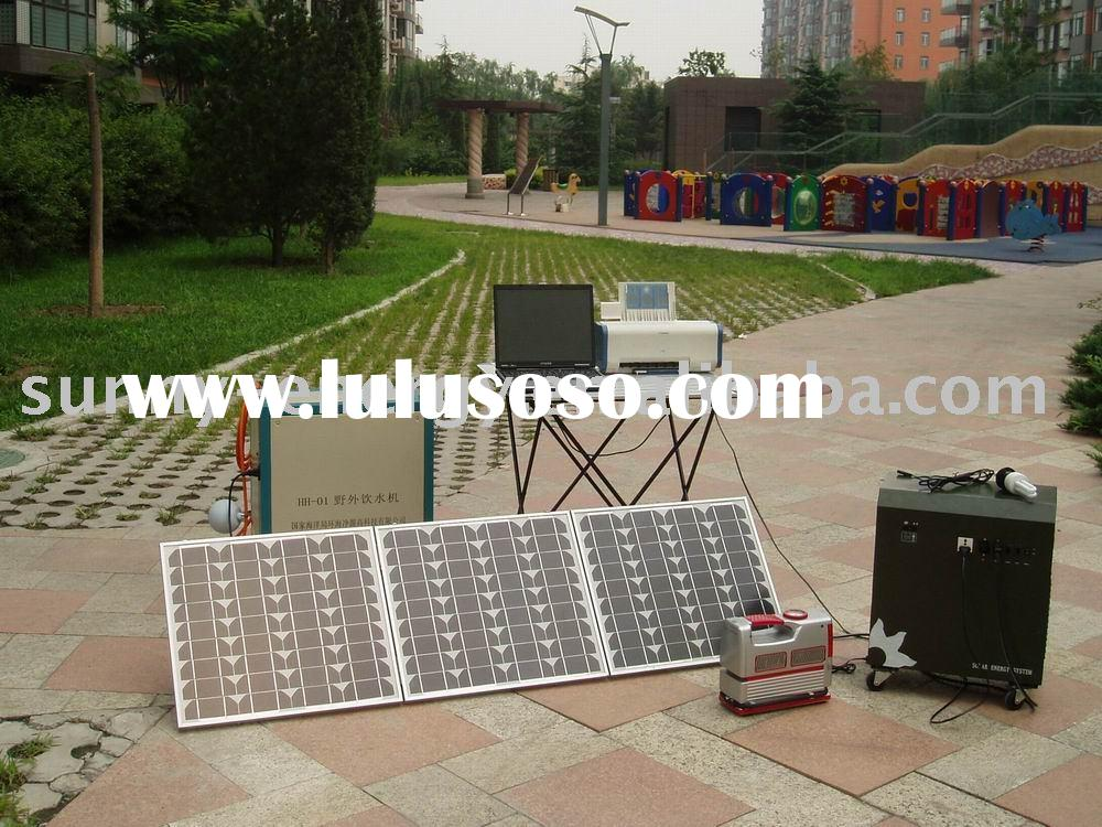 120w home solar panel system