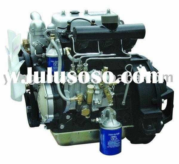 38KW Water cooled  4 cylinder electric diesel engine