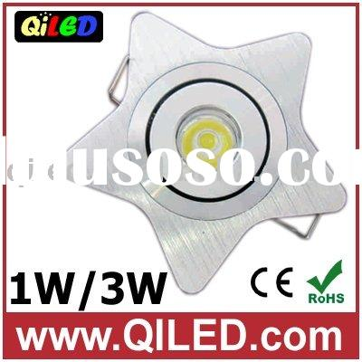 3W star led downlight