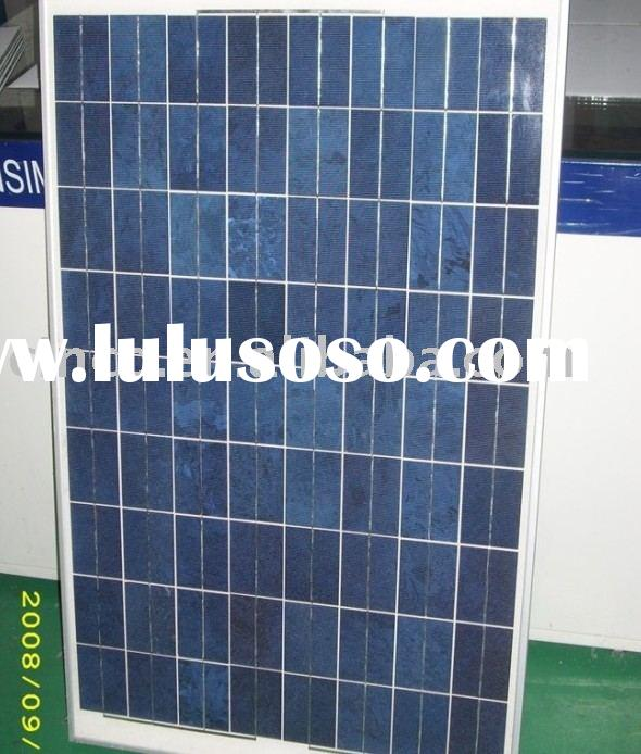 80W Solar Panel Poly Crystalline silicon Photovoltaic PV cell used for Solar kit Energy