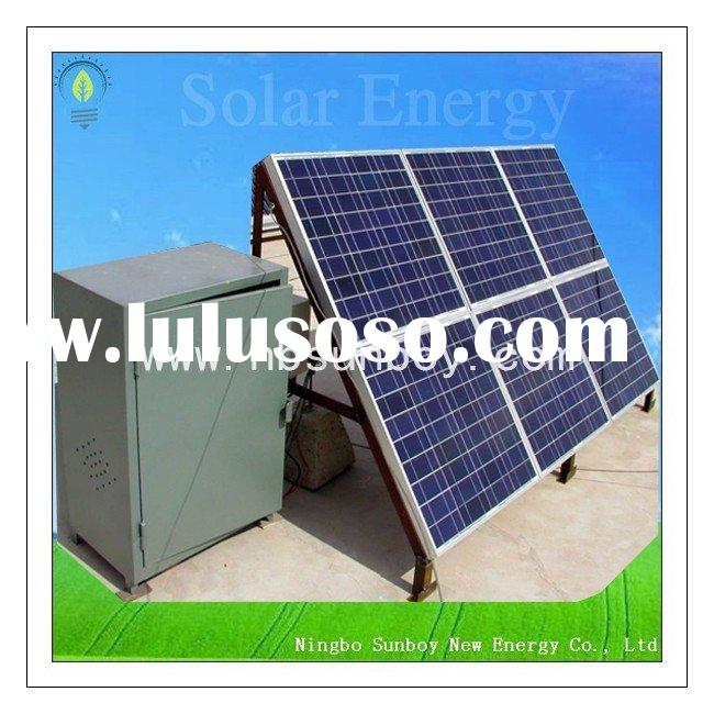 Affordable Residential Solar Power System