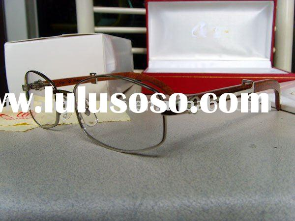 CT 2902518  Fashion  Glasses wooden eyeglasses Latest Style Top Quality Brand Name