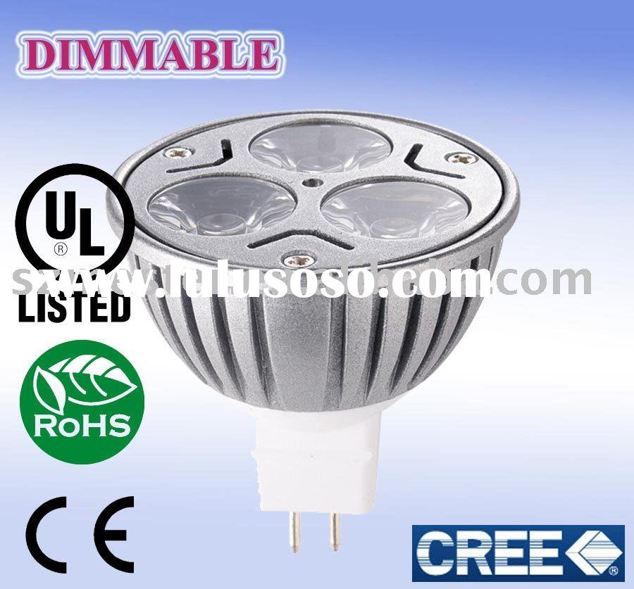 DIMMABLE LED MR16 bulb