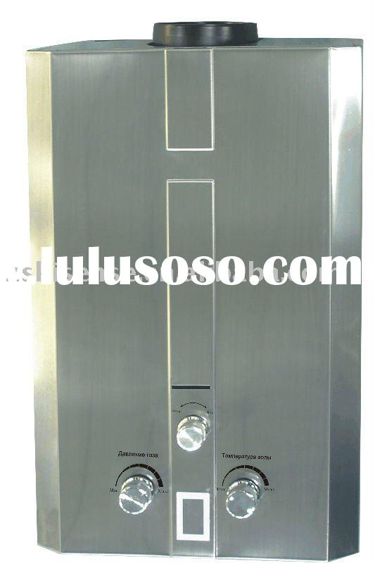 Flue type gas water heater  with 20 Minutes Timer, Customizes Colors are Available