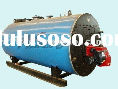 Horizontal Oil Fired Hot Water Boiler Water Heater   0.7MW