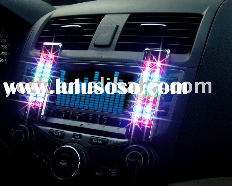 LED Car Music Light --- Sound Control Lamp