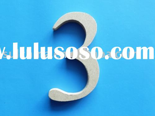 MDF numbers/MDF letters/wooden crafts