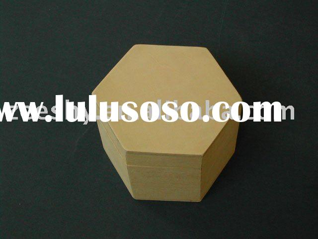 Original Unfinished Wooden Packaging Box