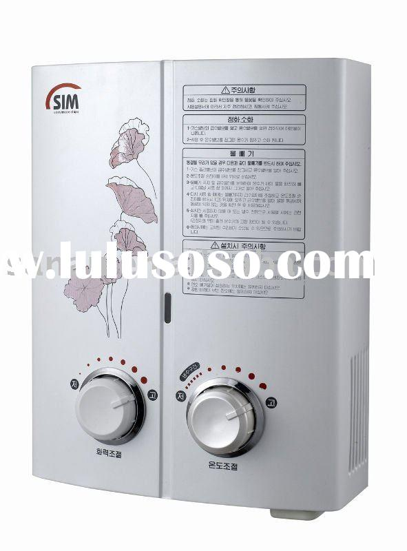 Oxgen-free copper gas water heater (5~6L)