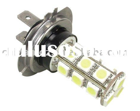 SMD H7 18Chips 12V LED White Headlight and Fog Light Bulb