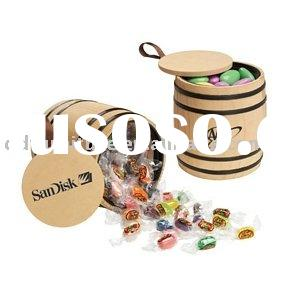 Small Wooden Barrel for sweets pack