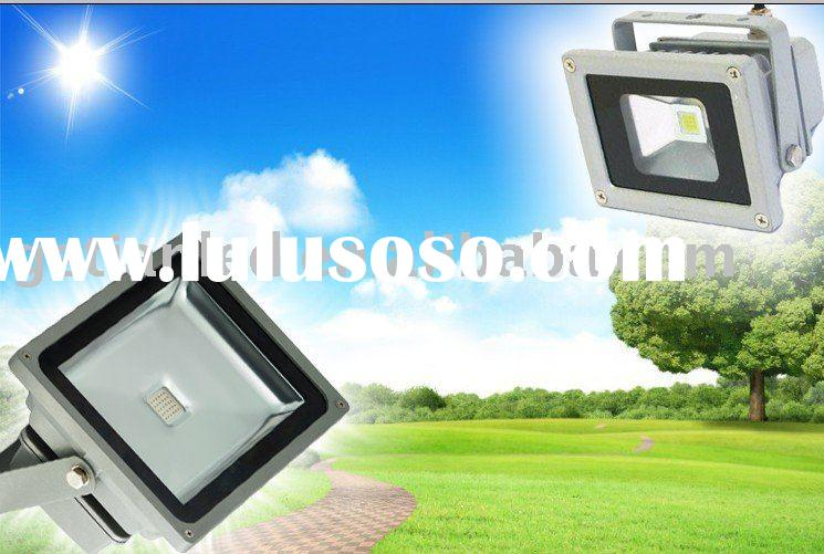 Solar panel LED Flood light with sensor