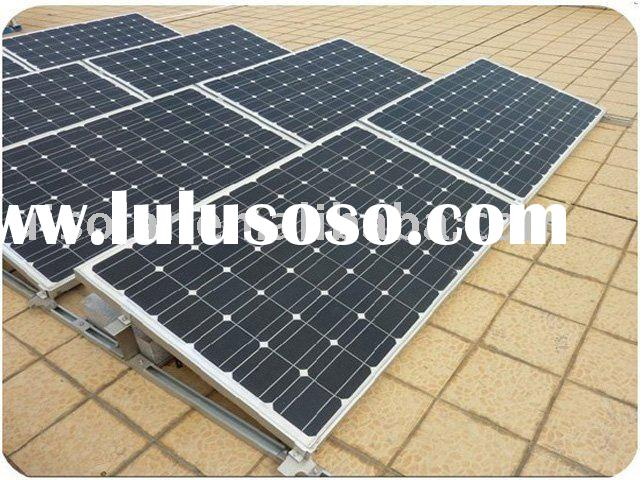 Solar panel installation kit