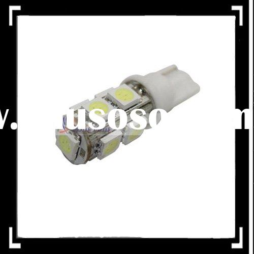 T10 194 168 9 Smd High Power White Led Wedge Based Car Bulb LED Lamp