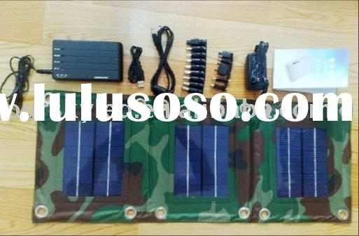 Universal foldable solar charger Flexible solar panels