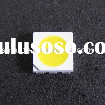 Warm White 5050 smd led with 5000mcd