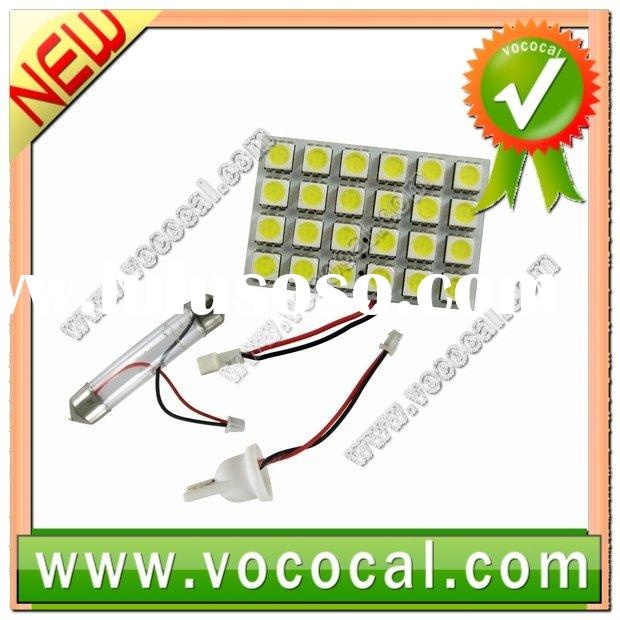 Wholesale Price Car Interior Super Light Lamp 24 LED Replacement Bulbs