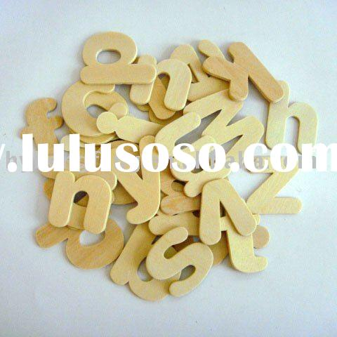 Wood craft   Unfinished Wood  letters