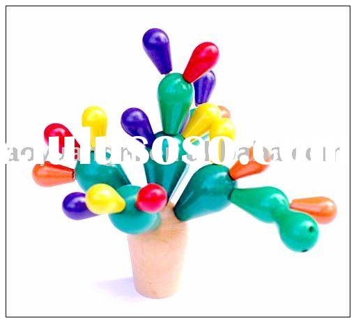 Wooden Cactus of Toys for Kids,Wood Crafts