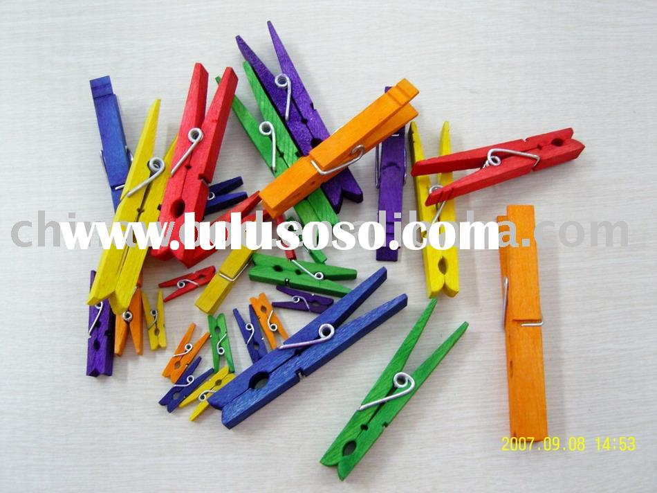 Wooden craft pegs (YDCRT09),Clothes Pegs,Clothes Pins