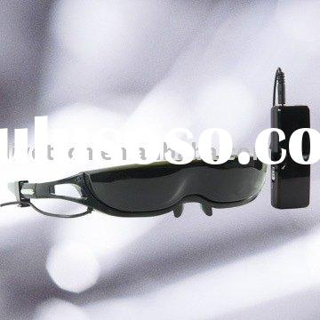 (Promotion) Christmas gifts video sunglasses for Ipod , Iphone ,DVD, Mp4, computer, X-BOX, 3G mobile