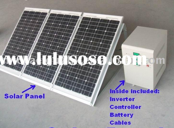 complete solar home system