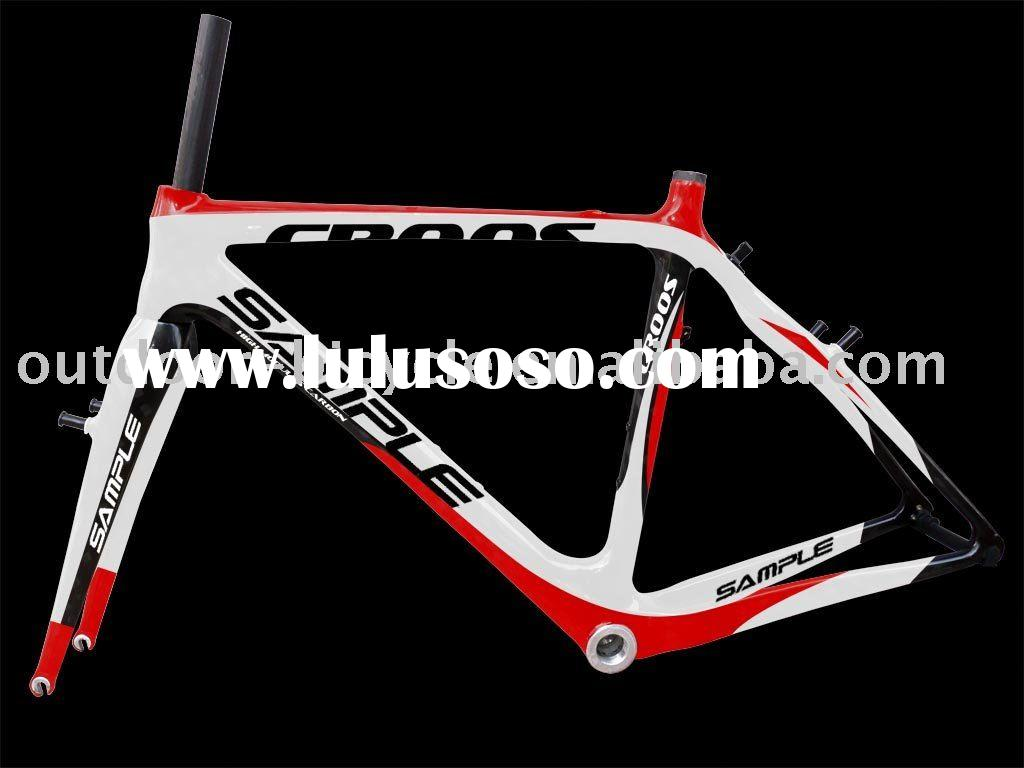 inside cable carbon frame of cyclocross 2011 new design