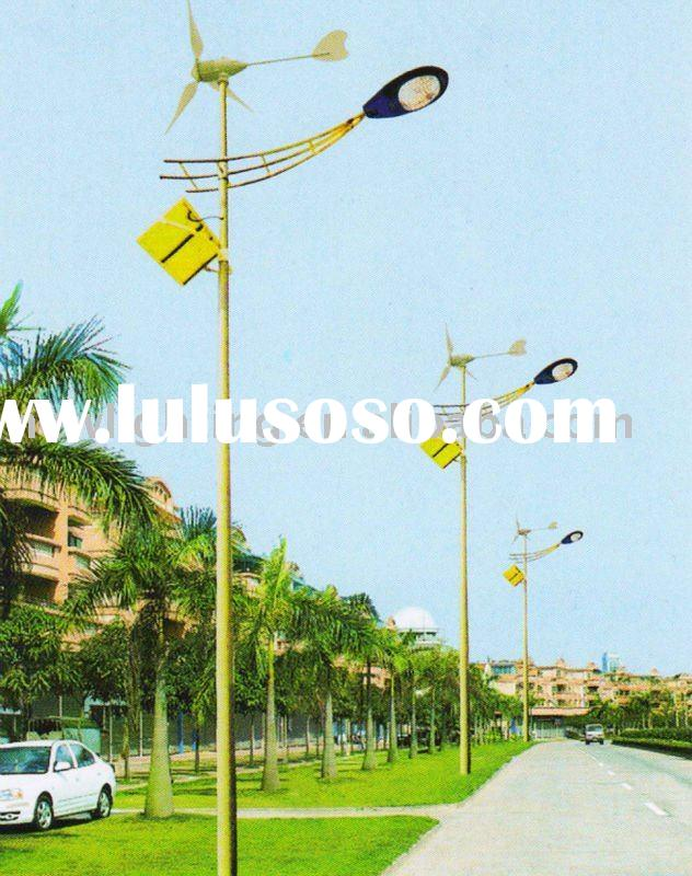solar panels / wind generator/PV module / LED lamp head / high power LED solar street light