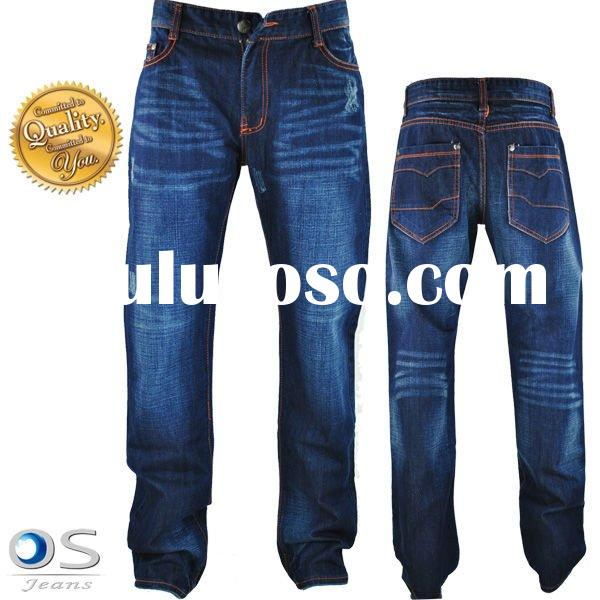 2011 HOT SALE 100% cotton affordable jeans (sample is offered before orders)