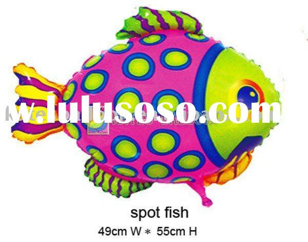 2011 important product fish shape Baby balloon