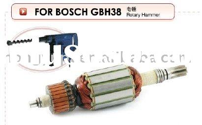 Armature,stator and other parts for Bosch GBH38