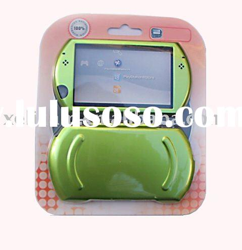 For PSP go Aluminum Plastic case cover for PSP case cover (Green color)