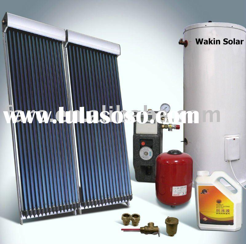 High pressure separated solar water heater