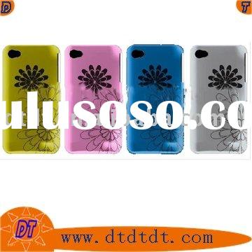 Laser engraved silicon case for iphone 4G (New)