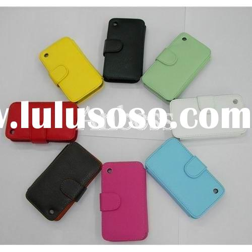 Magnetic Flip Soft Leather Case for iPhone 3GS iPhone 3G 3GS