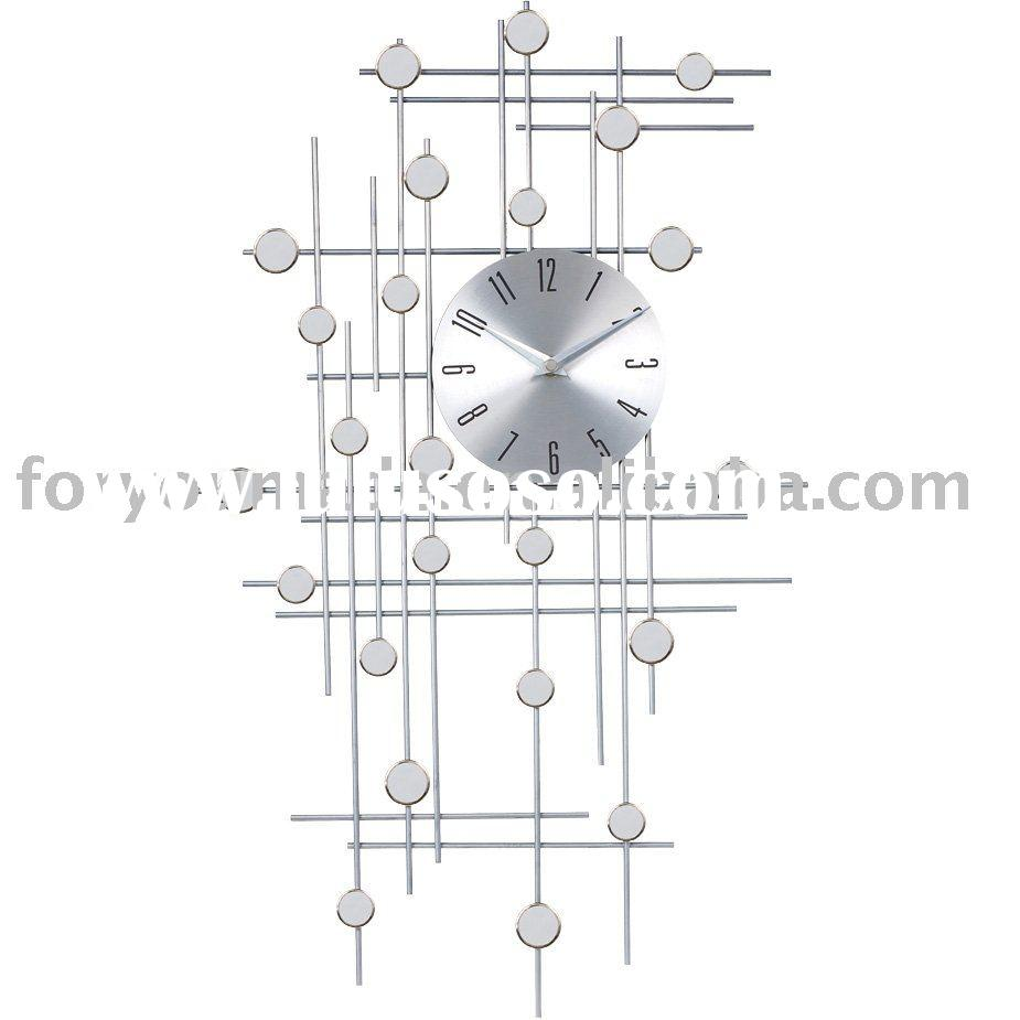 Modern Decorative Mirrored Wall Clock